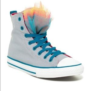 Converse Girls Youth Party High Top Sneakers